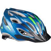 Kask rowerowy Bontrager Solstice niebiesko zielony