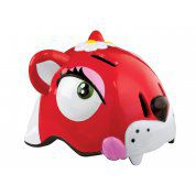 KASK ROWEROWY CRAZY SAFETY RED CAT