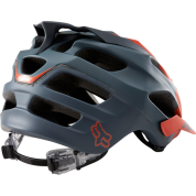 Kask rowerowy Foxhead Flux Helmet pomarańczowy tył