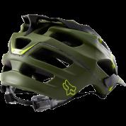Kask rowerowy Foxhead Flux Helmet zielony tył
