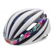 KASK ROWEROWY GIRO EMBER MIPS MATTE WHITE FLORAL 1