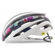KASK ROWEROWY GIRO EMBER MIPS MATTE WHITE FLORAL 2