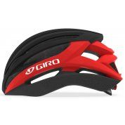 KASK ROWEROWY GIRO SYNTAX MATTE BLACK BRIGHT RED BOK