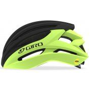 KASK ROWEROWY GIRO SYNTAX MIPS HIGHLIGHT YELLOW BLACK 1
