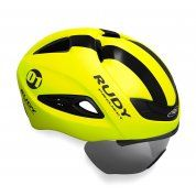 KASK ROWEROWY RUDY PROJECT BOOST 01 VISOR YELLOW FLUO
