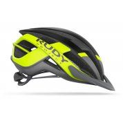 KASK ROWEROWY RUDY PROJECT VENGER CROSS TITANIUM|YELLOW FLUO HL660010 BOK