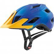 KASK ROWEROWY UVEX ACCESS BLUE|YELLOW MATT 1