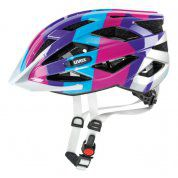 KASK ROWEROWY UVEX AIR WING BLUE PIN