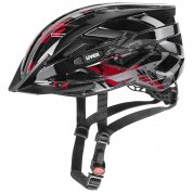 KASK ROWEROWY UVEX AIR WING BLACK RED