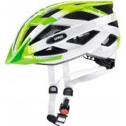KASK ROWEROWY UVEX AIR WING LIME WHITE