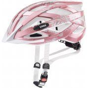 KASK ROWEROWY UVEX AIR WING ROSE WHITE