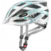 KASK ROWEROWY UVEX AIR WING WHITE GREEN