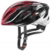 KASK ROWEROWY UVEX BOSS RACE BLACK RED