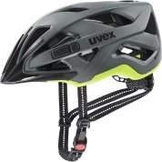 KASK ROWEROWY UVEX CITY ACTIVE 41|0|428|08 ANTHRAZIT|LIME MAT