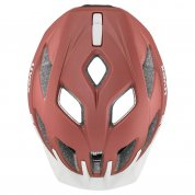 KASK ROWEROWY UVEX CITY ACTIVE GOJI MAT GÓRA