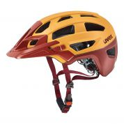 KASK ROWEROWY UVEX FINALE ORANGE RED MAT