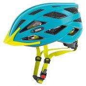 Kask rowerowy Uvex I-VO CC niebiesko żółty