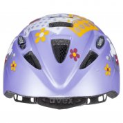 KASK ROWEROWY UVEX KID 2 CC LILAC MOUSE MAT PRZÓD