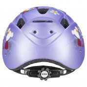 KASK ROWEROWY UVEX KID 2 CC LILAC MOUSE MAT TYŁ
