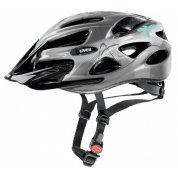 KASK ROWEROWY UVEX ONYX DARK SILVER LIGHT BLUE