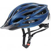 KASK ROWEROWY UVEX OVERSIZE 160|08 BLUE|WHITE MAT