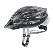 KASK ROWEROWY UVEX OVERSIZE BLACK MAT SILVER