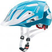 KASK ROWEROWY UVEX QUATRO 775|17 LIGHT BLUE|WHITE
