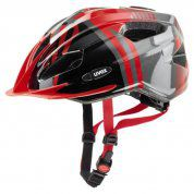 KASK ROWEROWY UVEX QUATRO JUNIOR RED ANTHRACITE