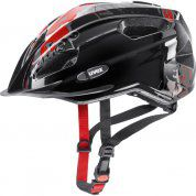 KASK ROWEROWY UVEX QUATRO JUNIOR 257|28 BLACK|RED