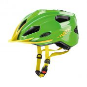 KASK ROWEROWY UVEX QUATRO JUNIOR green-yellow