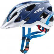 KASK ROWEROWY UVEX STIVO CC 790|12 BLUE|WHITE MAT