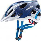KASK ROWEROWY UVEX STIVO CC 790|12 BLUE|WHITE MAT