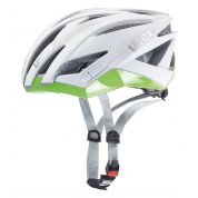 KASK ROWEROWY UVEX ULTRASONIC RACE WHITE MAT GREEN
