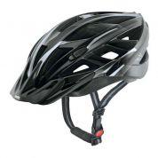 Kask rowerowy Uvex Xenova czarno srebrny