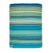 KOMIN BUFF JUNIOR KNITTED AND FLEECE NECKWARMER AMITY TURQUOISE