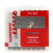 ŁAŃCUCH ROWEROWY SRAM PC-951 GREY 1