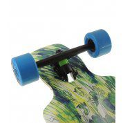 LONGBOARD LANDYACHTZ DROP CARVE 37 WAVES BASIC BLUE 3