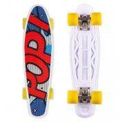 LONGBOARD STREET SURFING POP BOARDS POPSI BLUE