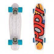LONGBOARD STREET SURFING POP BOARDS POPSI YELLOW