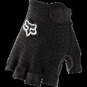 Rekawiczki rowerowe Foxhead Ranger short glove czarne góra