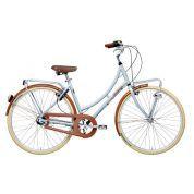Rower Adriatica Holland Lady szary|brązowy