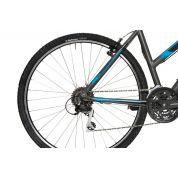Rower Corratec X- Vert Cross Lady szaro niebieski bok