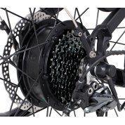 """ROWER ELEKTRYCZNY ECOBIKE S-CROSS L 19"""" BLACK 4"""