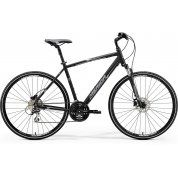 ROWER MERIDA CROSSWAY 20-D MATT BLACK|WHITE|GREY