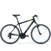 Rower Merida Crossway 5-V Silk Black (Grey Yellow)
